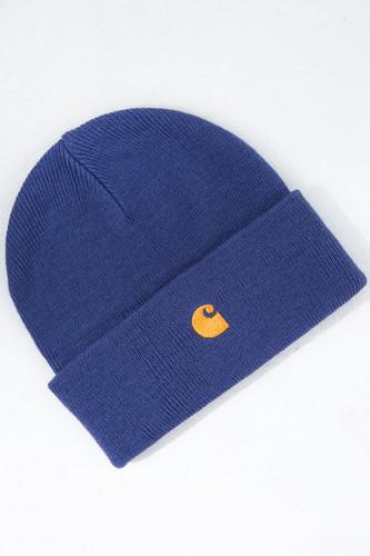 Шапка CARHARTT Chase Beanie (Gold Viola/Gold) шапка ess logo beanie jr puma шапка ess logo beanie jr
