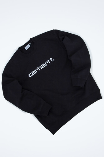 Толстовка CARHARTT Black/White фото 9