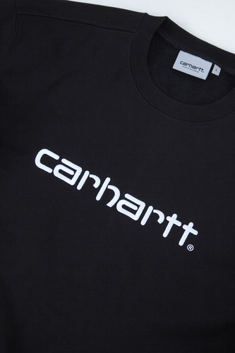 Толстовка CARHARTT Black/White фото 10