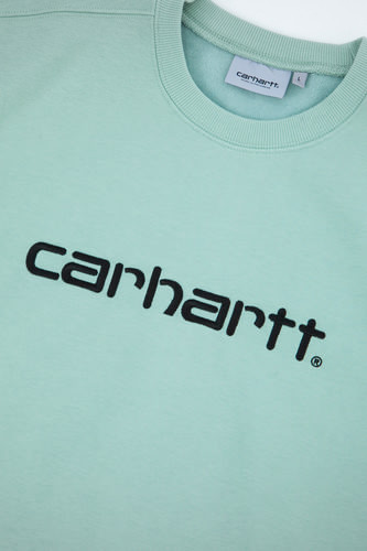 Толстовка CARHARTT Frosted Green/Black фото 8