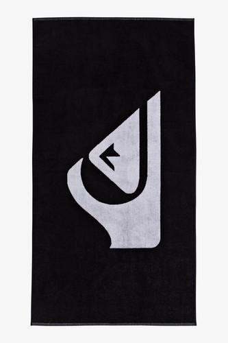 Пляжное полотенце QUIKSILVER Woven Logo (BLACK (kvj0))