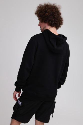 Толстовка URBAN CLASSICS Basic Sweat Hoody Black фото 6