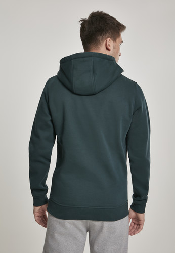 Толстовка URBAN CLASSICS Basic Sweat Hoody Bottle Green фото 7