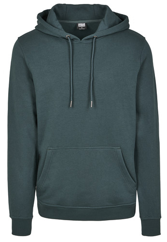 Толстовка URBAN CLASSICS Basic Sweat Hoody Bottle Green фото 9