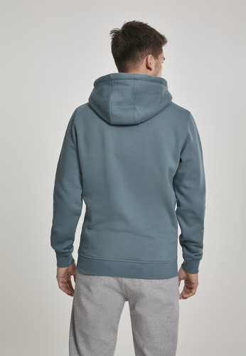 Толстовка URBAN CLASSICS Basic Sweat Hoody Dusty Blue фото 6