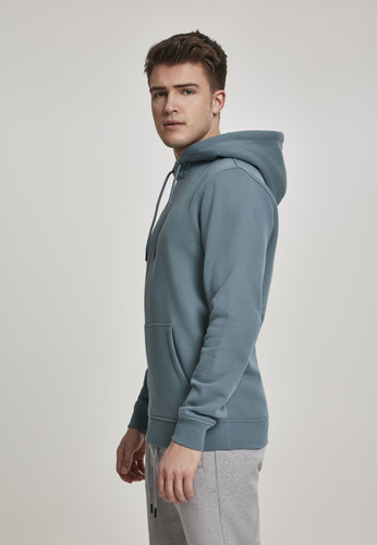 Толстовка URBAN CLASSICS Basic Sweat Hoody Dusty Blue фото 7