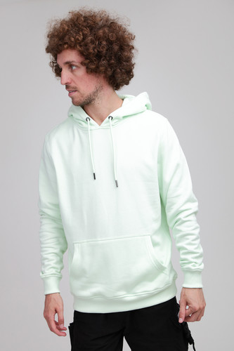 Толстовка URBAN CLASSICS Basic Sweat Hoody Light Mint фото 5