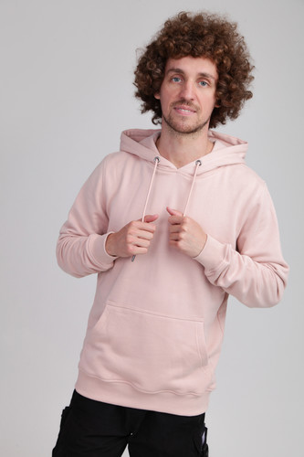 Толстовка URBAN CLASSICS Basic Sweat Hoody Light Rose фото 4