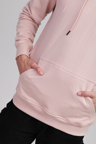 Толстовка URBAN CLASSICS Basic Sweat Hoody Light Rose фото 6