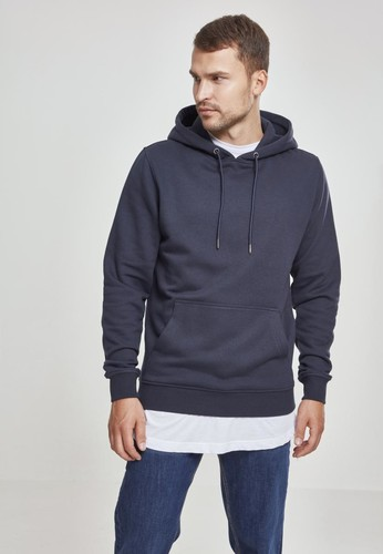 Толстовка URBAN CLASSICS Basic Sweat Hoody Navy фото 6
