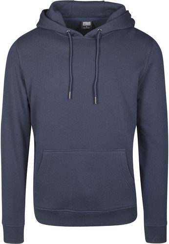 Толстовка URBAN CLASSICS Basic Sweat Hoody Navy фото 10
