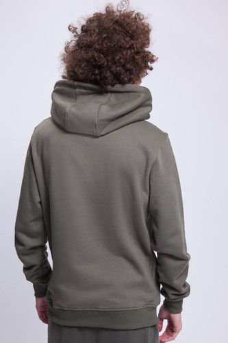 Толстовка URBAN CLASSICS Basic Sweat Hoody Olive фото 5