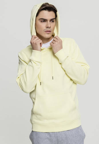 Толстовка URBAN CLASSICS Basic Sweat Hoody Powderyellow фото 5
