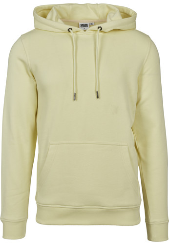Толстовка URBAN CLASSICS Basic Sweat Hoody Powderyellow фото 8