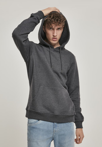 Толстовка URBAN CLASSICS Basic Sweat Hoody Charcoal фото 3