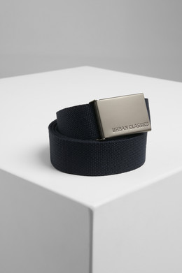 Ремень URBAN CLASSICS Canvas Belts Navy фото