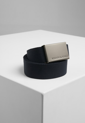 Ремень URBAN CLASSICS Canvas Belts Navy фото 2