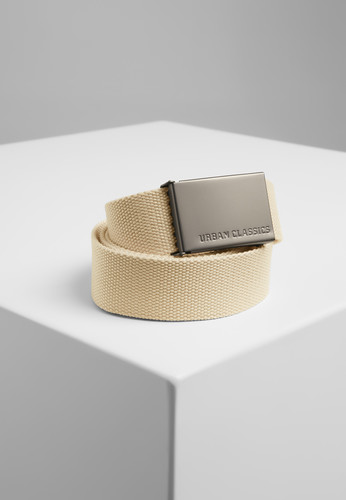 Ремень URBAN CLASSICS Canvas Belts Beige фото 2