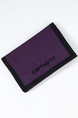 Бумажник CARHARTT Payton Wallet (6 Minimum) Boysenberry/Black фото