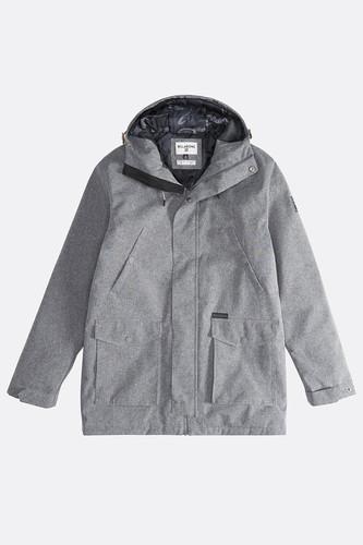 Куртка Billabong Alves 10k Jacket (GREY HEATHER, M)