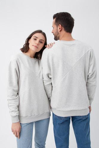 Толстовка GOOD STORY X (ИКС) (Серый Меланж, XS) футболка good story team logo серый меланж xs