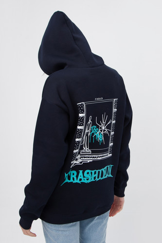Худи ISSUE Paris hoody Темно-Синий фото 10