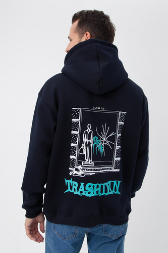 Худи ISSUE Paris hoody Темно-Синий фото 12