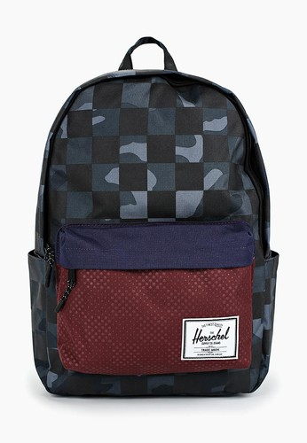 Рюкзак HERSCHEL Classic X-Large 10492 Night Camo/Plum Dot Check/Checker фото 2
