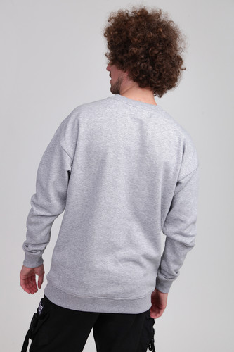 Толстовка URBAN CLASSICS Sweat Crewneck Grey фото 6