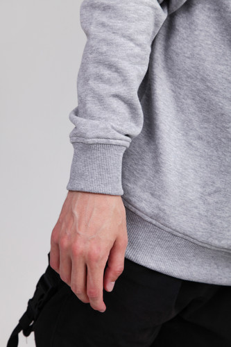 Толстовка URBAN CLASSICS Sweat Crewneck Grey фото 8