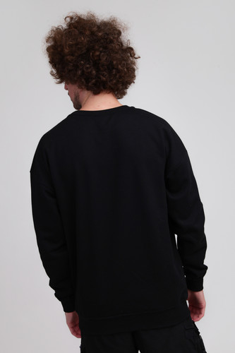 Толстовка URBAN CLASSICS Sweat Crewneck Black фото 4