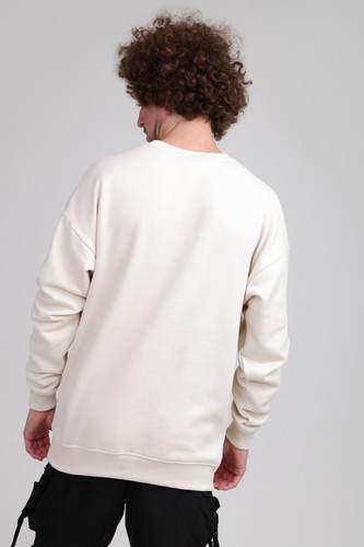 Толстовка URBAN CLASSICS Sweat Crewneck Sand фото 5