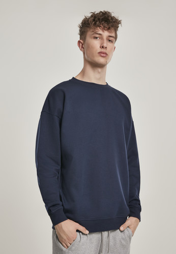 Толстовка URBAN CLASSICS Sweat Crewneck Mid Night Navy фото 3