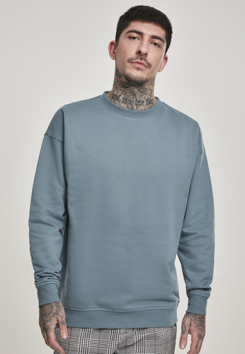 Толстовка URBAN CLASSICS Sweat Crewneck Dusty Blue фото 3