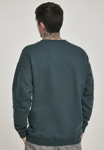 Толстовка URBAN CLASSICS Sweat Crewneck Bottle Green фото 4