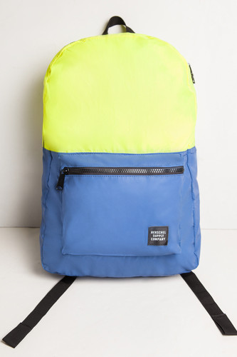Рюкзак HERSCHEL Packable Daypack 10076 Neon Yellow Reflective/Peacoat Reflective фото 7