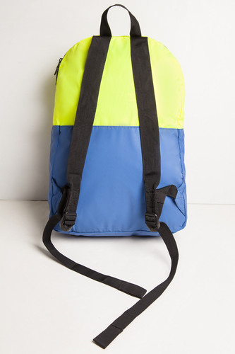 Рюкзак HERSCHEL Packable Daypack 10076 Neon Yellow Reflective/Peacoat Reflective фото 8