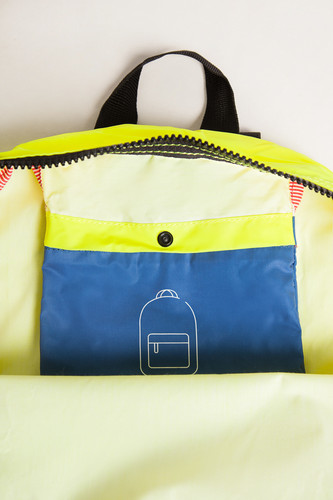 Рюкзак HERSCHEL Packable Daypack 10076 Neon Yellow Reflective/Peacoat Reflective фото 12