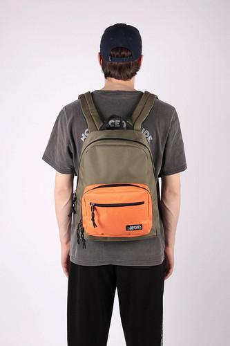 Рюкзак ANTEATER Bagmini (haki-orange)