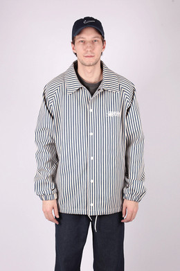 Куртка ANTEATER Coach Jacket jeans_stripes фото