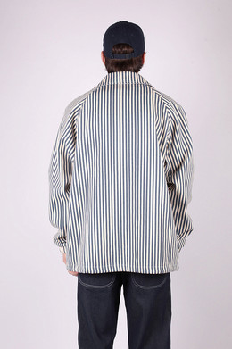 Куртка ANTEATER Coach Jacket jeans_stripes фото 2