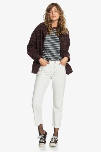 Женские широкие джинсы Quiksilver Womens (LILY WHITE (wcq0), 28)