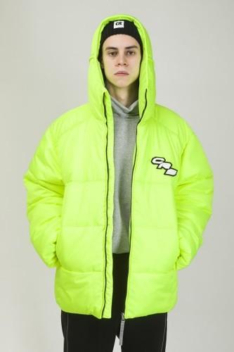 Куртка CODERED Puffed (Флюр Лимон, XL)