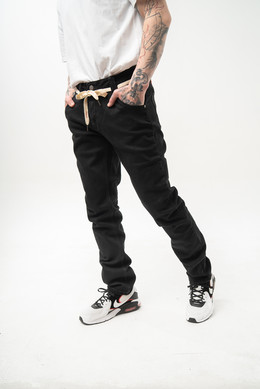 Джинсы SKILLS Slim Flex Black/Black фото