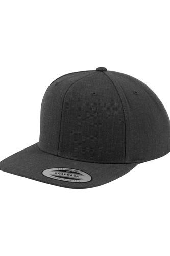 Бейсболка YUPOONG Classic Snapback (Dark Grey/Dark Grey, O/S)
