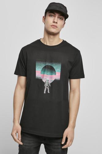 Футболка MISTER TEE Psychedelic Planet Tee (Black, XL) футболка mister tee marvel logo tee black m