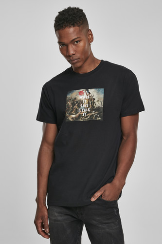 Футболка MISTER TEE Walk It Tee (Black, XL) футболка mister tee marvel logo tee black m
