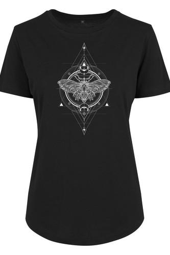 Футболка MISTER TEE Ladies Moth Fit Tee (Black, XS) футболка mister tee marvel logo tee black m