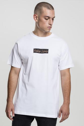 Футболка MISTER TEE Fake Love Tee (White, S) футболка mister tee ufo drop tee white l