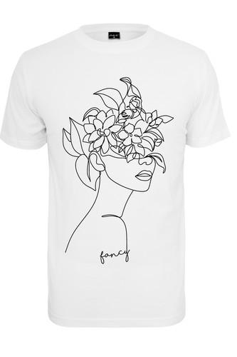 Футболка MISTER TEE Ladies One Line Fruit Tee (White, M) футболка mister tee marvel logo tee black m